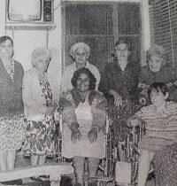 El Hogar Geriátrico Municipal «San José», en una estampa fotográfica, del mes de febrero de 1995.