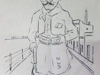 Simpáticas e ingeniosas caricaturas, de profesores del viejo Colegio Nacional, «José Hernández», y de distintas figuras chivilcoyanas de la época. Publicadas en el programa del «Gran Festival Humorístico», realizado por los alumnos, de dicho establecimiento educacional, el 21 de septiembre de 1924, con motivo del Día de la Primavera y del Estudiante».