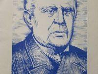Domingo Faustino Sarmiento, que siendo senador, en la Legislatura de la Provincia de Buenos Aires, logró la sanción de la tan importante y beneficiosa, «Ley de Tierras, del Partido de Chivilcoy», el 13 de octubre  de 1857.