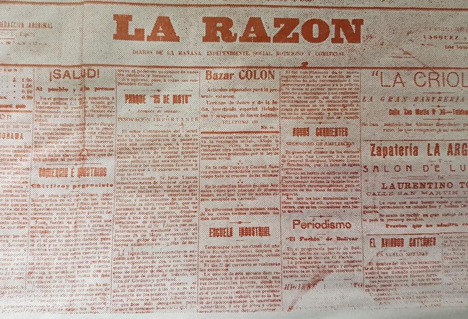 Reflexión lunfarda: Los 107 años, del matutino chivilcoyano «La Razón».