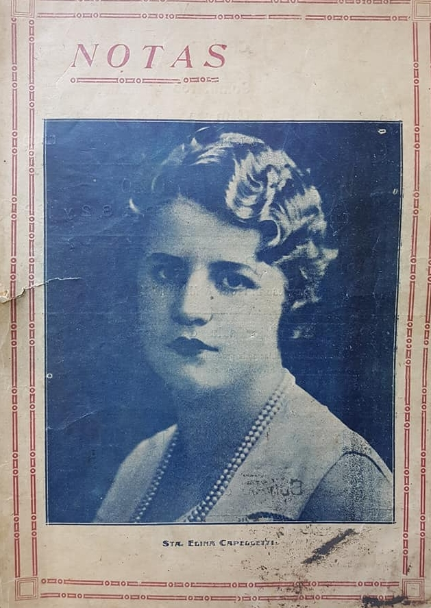 """La aparición del semanario """"Notas"""" (1931)."""