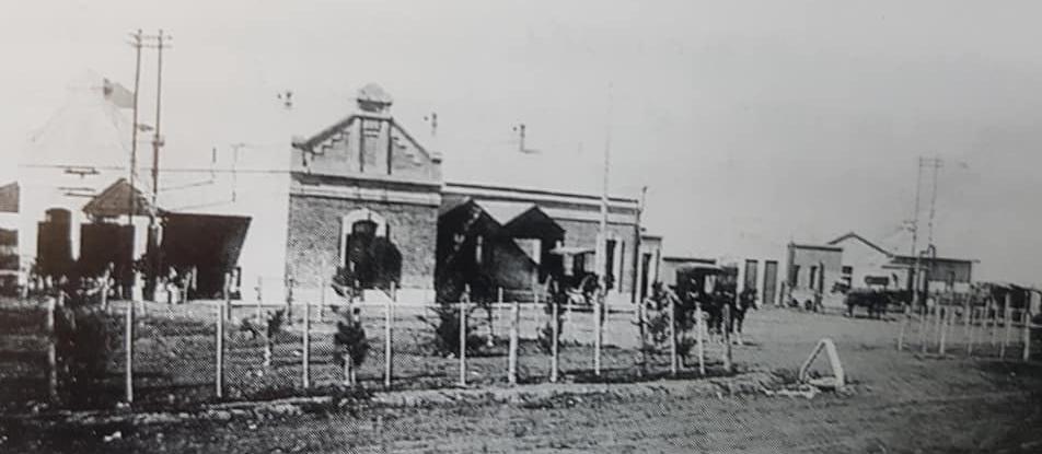 Habilitación de la estación ferroviaria Sud (1910).