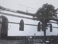 Fachada del antiguo y tradicional colegio nuestra señora de la Misericordia, cuyos orígenes históricos, se remontan a comienzos del año 1882.