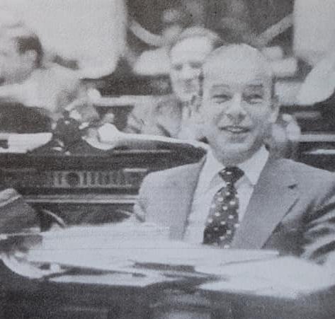 El relevante y prestigioso abogado, dirigente político y hombre público chivilcoyano, Dr. Francisco José Falabella