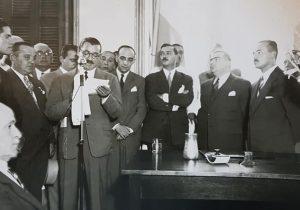 El Dr. Walter José Schiaffino, comisionado municipal de Chivilcoy, entre el mes de febrero y noviembre de 1945. Ocupó, nuevamente ese cargo, desde diciembre de 1947, hasta febrero de 1948. Falleció, el 18 de abril de 1953.