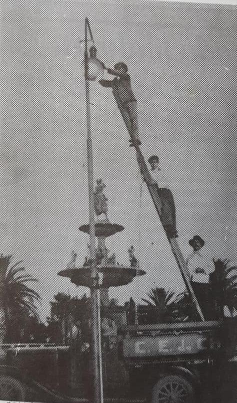 El alumbrado público chivilcoyano, en sus orígenes.