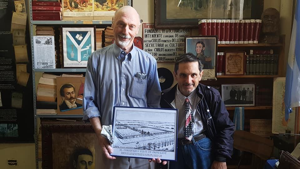 Importante donación, al Archivo Literario Municipal, del procurador Juan Antonio Larrea (2018).
