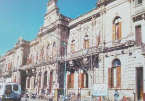 El Palacio Municipal de Chivilcoy, que se inaugurara en el año 1900.