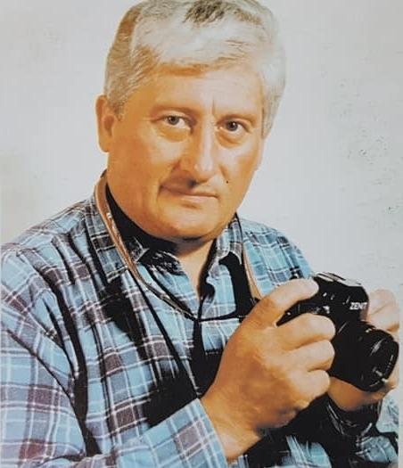 El destacado fotógrafo e investigador chivilcoyano, Luis Ángel Desía