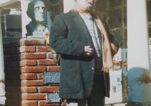 El inolvidable poeta, escritor y periodista, Alberto Lindolfo Boluntieri, nacido en 1936, y fallecido en el año 2009.