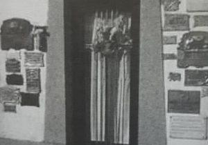 Bóveda familiar, en el cementerio de Pehuajó, donde descansan los restos, de Jorge Eduardo Farabollini.