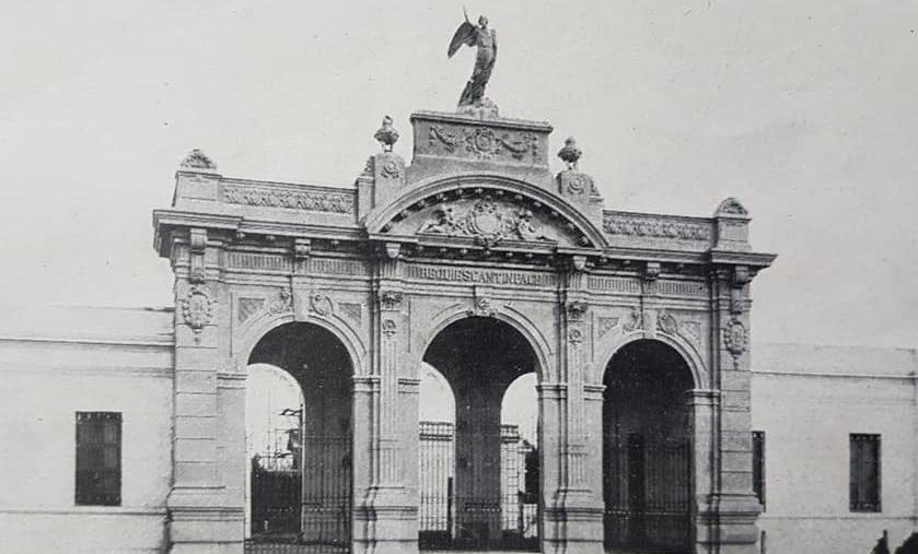El Cementerio Municipal de Chivilcoy, inaugurado en 1893.