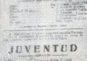 Afiche publicitario, del promisorio y exitoso debut, del cuadro dramático y el elenco escénico, de la «Agrupación Artística Chivilcoy», el 25 de junio de 1916.