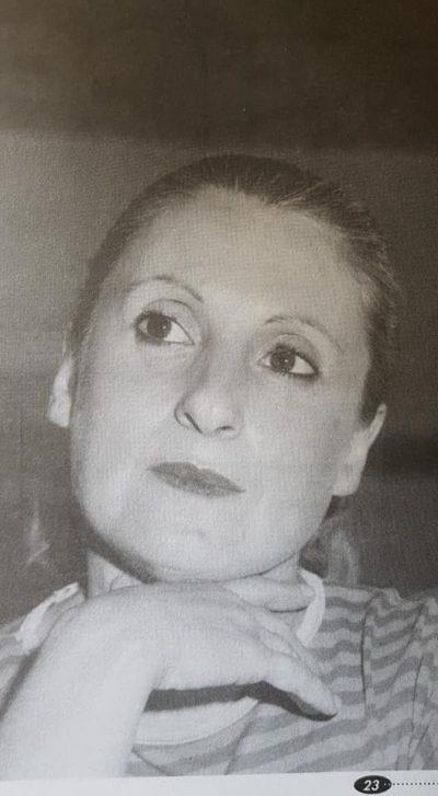 Fallecimiento de la profesora de danzas nativas, Nélida Liliana López de Risso (2018).