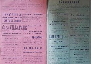 """El programa, del """"Gran Festival Teatral"""", del martes 30 de abril de 1940, organizado por el Club Atlético Paso; una entidad deportiva, de apreciable trayectoria, aquí, en nuestro medio, que se había fundado, el 16 de marzo de 1934."""