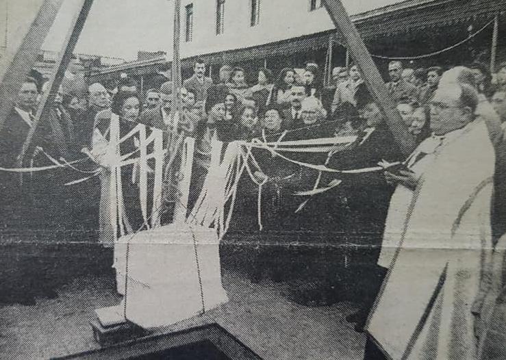 La celebración de la festividad del Carmen, el 16 de julio de 1946