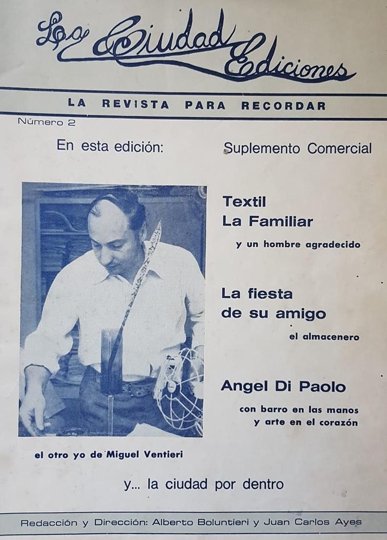 Falleció Miguel Ángel Ventieri (1939-2018).