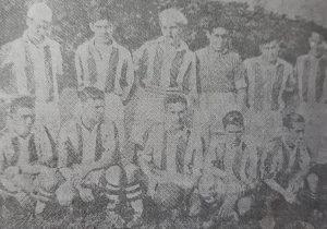"""Equipo futbolístico, del Club Sportivo Buenos Aires, fundado el 1 de enero de 1918. Dicho equipo, se consagró """"Campeón invicto"""", del torneo de la Federación Chivilcoyana de Deportes, en el año 1935."""