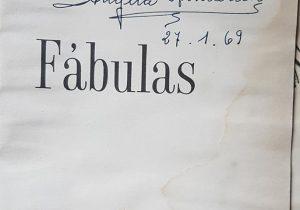 La firma autógrafa, de la docente Ángela Armando, tía paterna, del fundador y director del Archivo Literario Municipal Carlos Armando Costanzo.