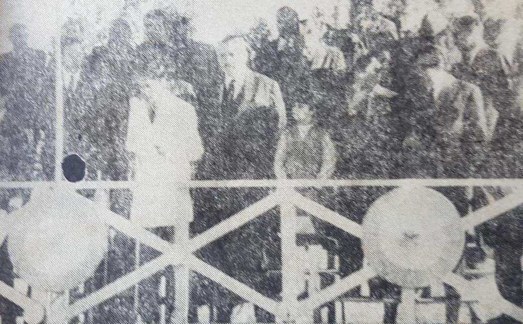 La conmemoración del General San Martín, en Chivilcoy, el 17 de agosto de 1969.