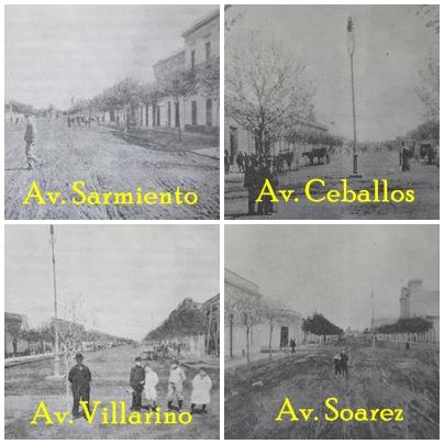 El bautismo de las cuatro avenidas principales de Chivilcoy, en 1895.
