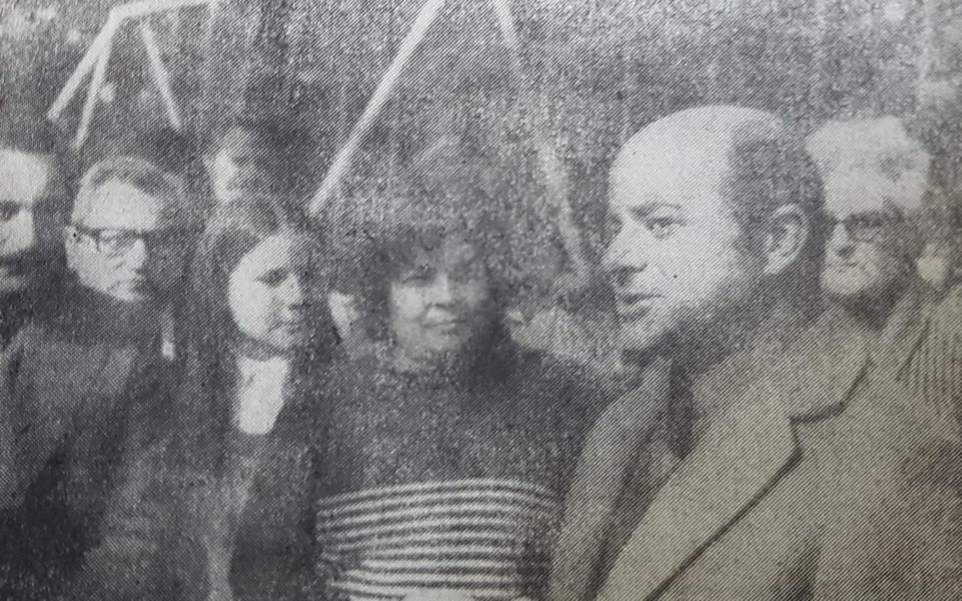 """La celebración del """"Día del Niño"""", en la plaza Mitre, de Chivilcoy, en agosto de 1981."""