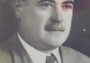 El caracterizado y prestigioso, ex rector del Colegio Nacional «José Hernández», arquitecto Abel Basso Dastuggue (1891-1944), quien estuvo al frente, del citado establecimiento educacional, desde el mes de septiembre de 1922, hasta su fallecimiento, el 17 de marzo de 1944.