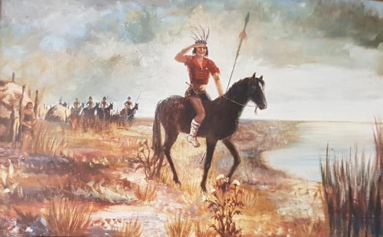 El legendario cacique Chivilco o Chivilcoy, que habitó esta zona geográfica, en tiempos lejanos e inmemoriales…