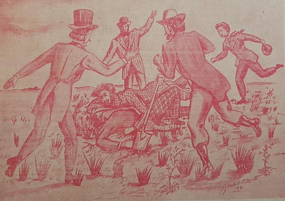 La histórica Acta fundacional, de aquel memorable domingo 22 de octubre de 1854…, hace ya, 164 años transcurridos…