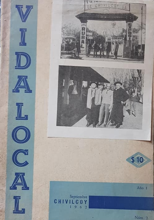 Una revista chivilcoyana, de la década de 1960, dirigida por Pedro O. Carrero.