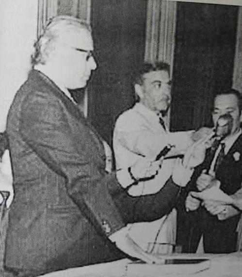 "Don Edgar Ángel Frígoli, ilustre ""Intendente Honorario"" de Chivilcoy"