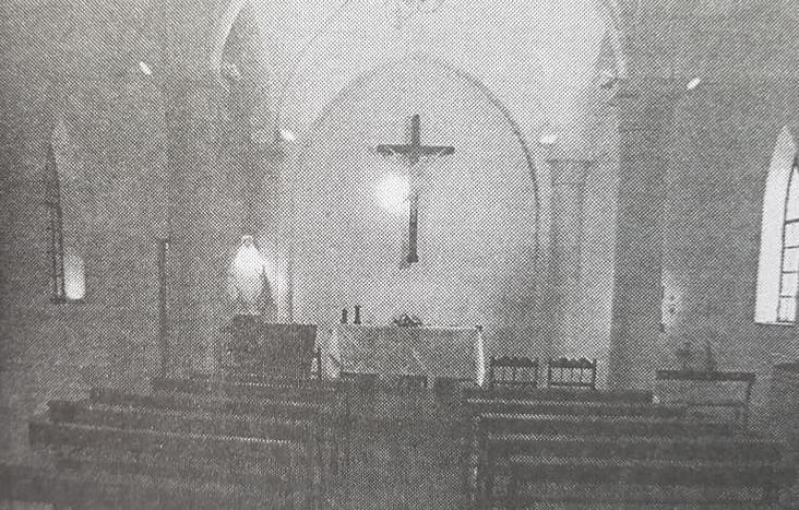 La Capilla del Colegio Nuestra Señora de la Misericordia, y una misa de Nochebuena, el 24 de diciembre de 1935.