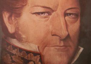 Brigadier general, Don Juan Manuel de Rosas (1793-1877), creador de nuestro Partido bonaerense de Chivilcoy, el domingo 28 de diciembre de 1845.