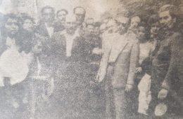 Sepelio de Don Pascual Aulisio, «Pascualito», el 28 de enero de 1960. Una verdadera multitud, despidió sus restos.