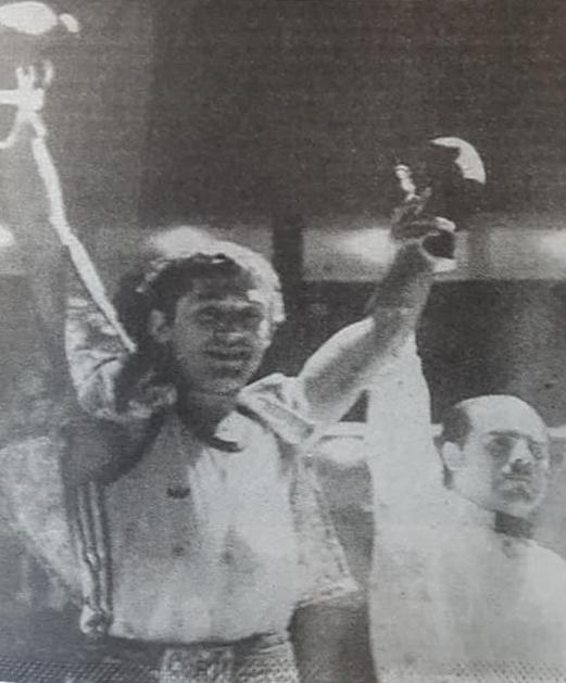 """Recordando al boxeador, Daniel Adolfo """"Batata"""" Leone (1956 – 2019)."""