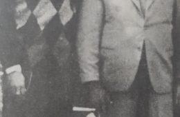 Ángel José Aulisio, «Angelito» (1921-1975), junto al renombrado predicador cristiano, Hermano Miguel Maresco.