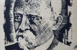 El caracterizado y prestigioso, poeta, periodista y hombre público, Don Carlos Augusto Fajardo, primer escribano de Chivilcoy, y fundador y director, junto al periodista y escritor, Miguel Calderón, del periódico bisemanal «La Campaña», aparecido el jueves 18 de marzo de 1875. Dicho órgano informativo, fue la hoja periodística inical, en la historia de nuestra ciudad. Don Carlos Augusto Fajardo, había nacido, el 10 de agosto de 1830, y falleció, a la avanzada edad de 90 años, el 20 de agosto de 1920. Radicado en la ciudad de La Plata, fue el primer Juez de Paz y escribano, de la capital, de la provincia de Buenos Aires.