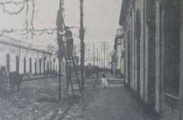 La calle Pellegrini, escenario de la fiesta de carnaval, a fines del siglo XIX, y comienzos del XX.