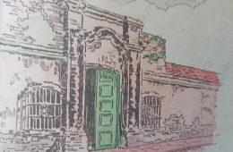 "Láminas escolares, del libro de lectura, de tercer grado, ""Girasoles"", del mes de abril, de 1951."