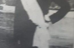"""Don José Carlos Rodríguez, miembto integrante, de la comparsa """"El Orfeón"""", y fundador y organizador, de otra comparsa denominada, """"Todos o ninguno"""". Dichas agrupaciones musicales, que contaban con un importante número de componentes, se presentaron durante los carnavales, de la década de 1910."""