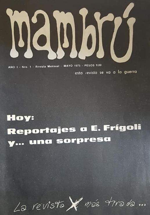 """""""Mambrú"""", una revista juvenil de 1975."""