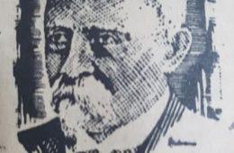 El caracterizado y prestigioso, periodista, poeta y hombre público lugareño, Don Carlos Augusto Fajardo (1830-1920), primer y glorioso escribano público, de nuestra ciudad. Fue uno de los fundadores, del periódico bisemanal «La Campaña», junto al periodista y escritor, Miguel Calderón. De origen uruguayo, residió, aquí, en Chivilcoy, durante dos décadas, y falleció, ya nonagenario, en la ciudad de La Plata.