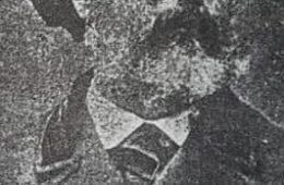 La ilustre y memorable figura, del fundador y pionero, de nuestra ciudad, Don Valentín Fernández Coria. Nacido en 1821, y fallecido en 1897, clavó la histórica pala fundadora, aquel domingo 22 de octubre de 1854.