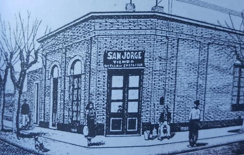 "Recordando a la tan memorable tienda ""San Jorge"", de la familia Yapor, fundada en 1916."