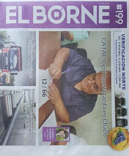 """""""El Borne"""", un periódico chivilcoyano, con una importante trascendencia nacional"""