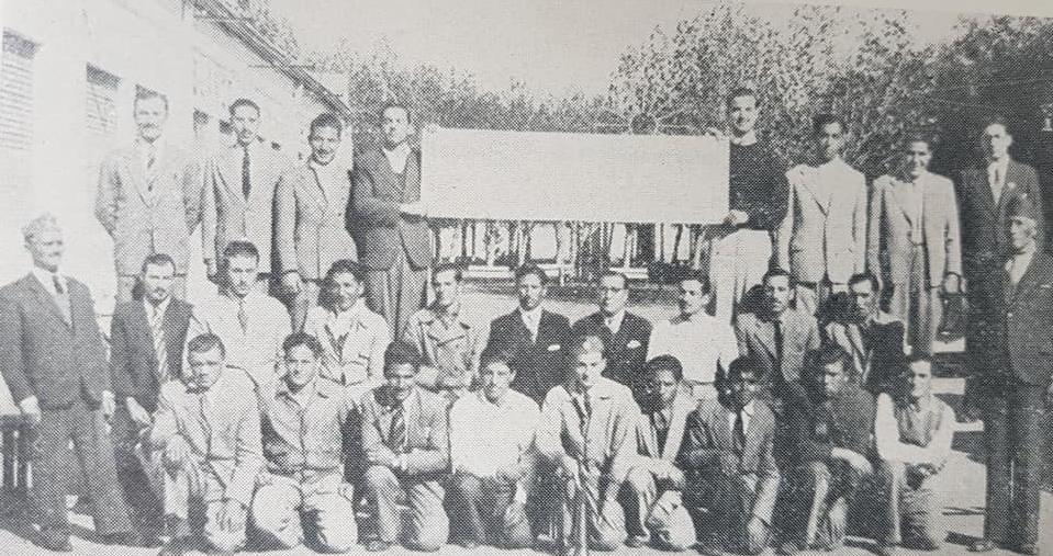 El Día del Bombero Voluntario Argentino, cada 2 de Junio. Los primeros servidores públicos chivilcoyanos, que se constituyeron y organizaron en 1945, dentro del Centro Comercial e Industrial.