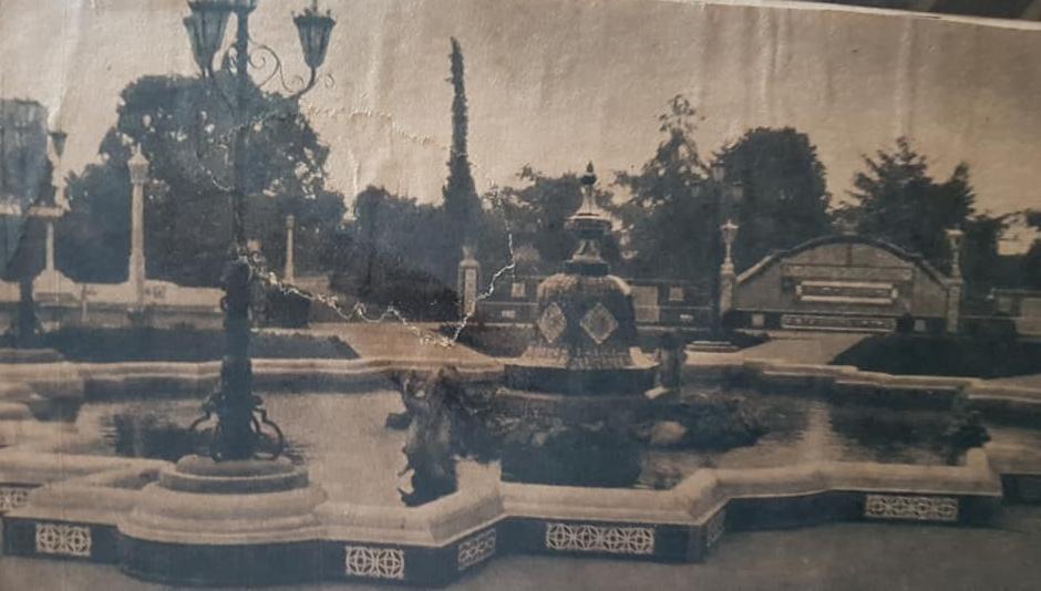 La plaza España de Chivilcoy. La historia de este paseo público, y su puesta en valor, el 7 de junio de 2019.