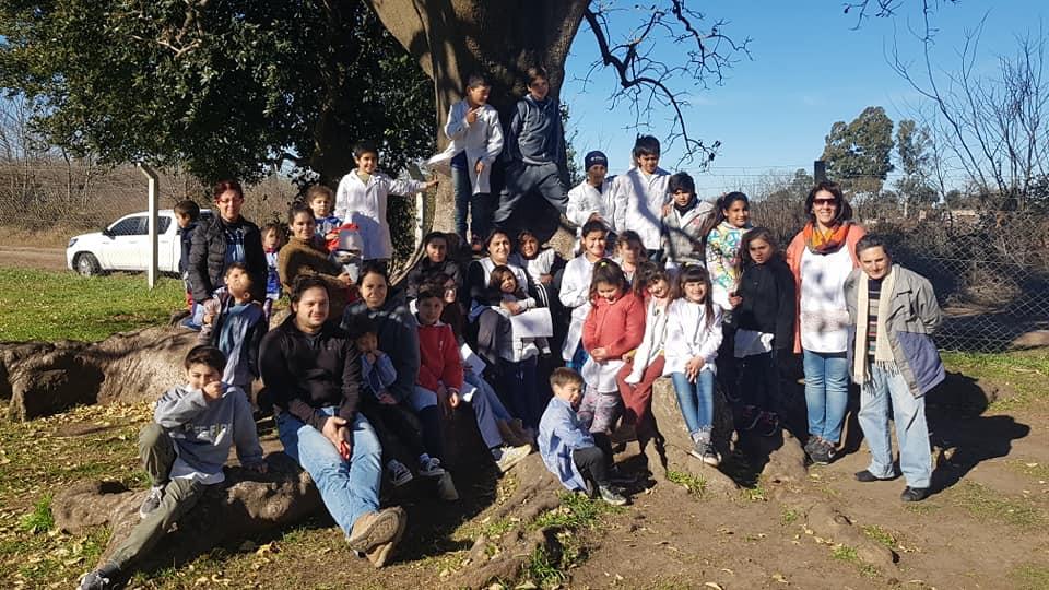 """La Escuela primaria Nro. 32 """"Baldomero Fernández Moreno"""", de Chivilcoy"""