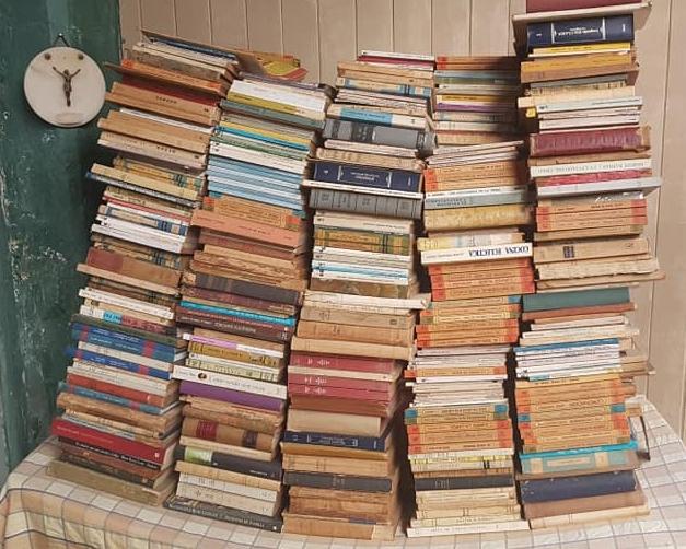 Gran donación bibliográfica, al Archivo Literario Municipal y el Salón del Periodismo Chivilcoyano
