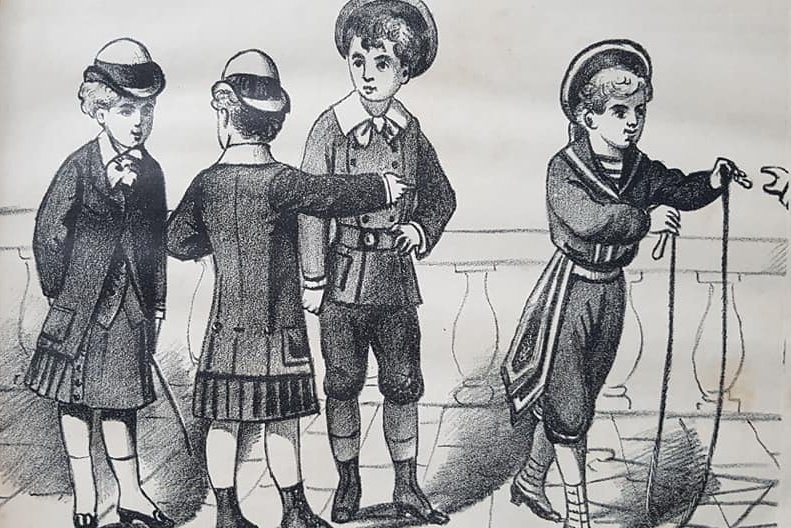 """El gran poeta chivilcoyano, Leopoldo Díaz (1862 – 1947), y sus colaboraciones literarias juveniles, en el semanario """"El Álbum del Hogar"""", de la década de 1880."""